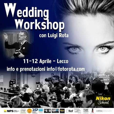 wedding workshop cartolina